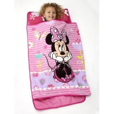 Nap Mat for Toddlers Minnie Mouse Kids Girls Kindergarten Preschool Sleeping Bag](Disney Kids Sleeping Bags)