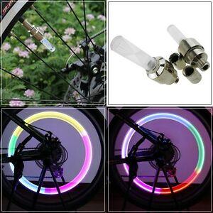 1 Packages of LED Multi Colour Light Wheel Tire Attachment