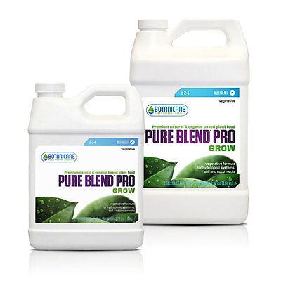 Pure Blend Pro Grow 3-2-4 Plant Food Veggies Fruit Flower (Hydroponic or Soil)