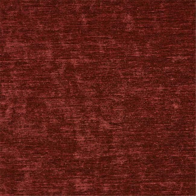 Designer Fabrics K0150S 54 in. Wide Burgundy Solid Shiny Woven Velvet Upholst...