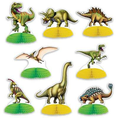 Dinosaur Mini Centerpiece Set 8 Pack Dinosaur Birthday Party Table Decoration - Dinosaur Party