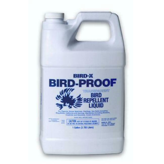 Bird-X BP-LIQ-1 Bird Proof Bird Repellent Liquid-1 Gallon