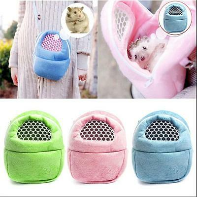 Travel Small Pet Pouch Cat Carrier Hamster Warm Cages 1PC Animal Outdoor Nest KV Small Animal Cage Pouch