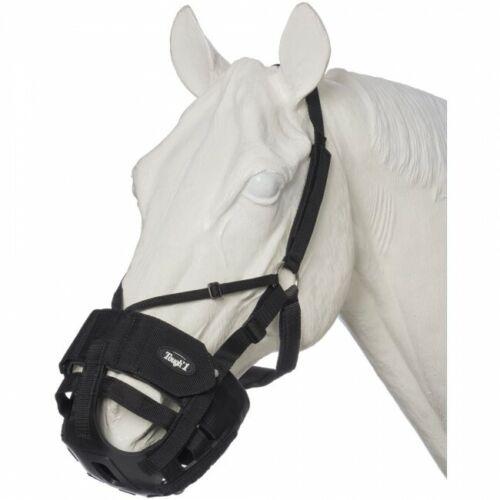 Tough 1 Black Horse Size EZ-Breathe Grazing Muzzle horse tack equine 52-926