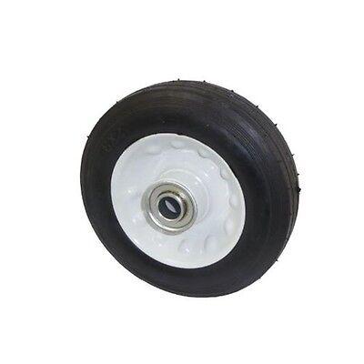 Marathon Universal Fit Air Filled Wheelbarrow Tire on Wheel - **Castle Thread**