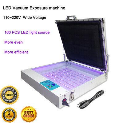 High Precise 20 X 24 80w Vacuum Led Uv Exposure Unit Screen Equipment