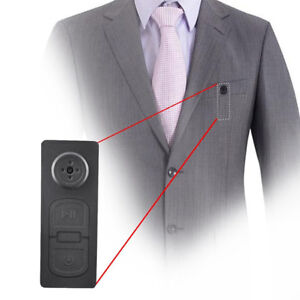 Spy Hidden Camera Cam Button