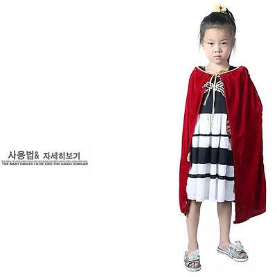 Kinder Halloween Kostüme Mantel Kapuze Samt Cape Mittelalter - Cape Samt Kind Kostüm