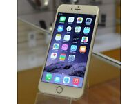 APPLE IPHONE 6 FOR SALE - 16GB - WHITE AND SILVER