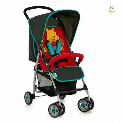 New Hauck Disney Sport Lightweight  Pushchair Buggy Pram Winnie the Pooh V Red