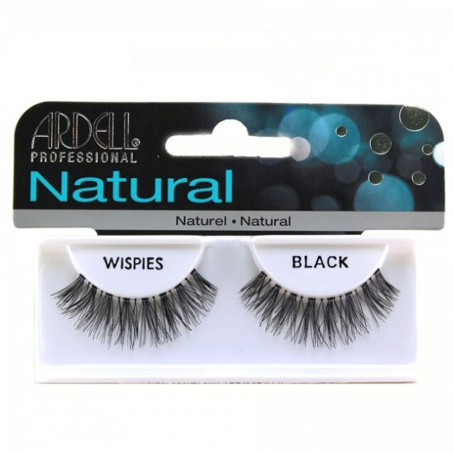 Ardell Invisibands Natural WISPIES Strip False Eye Lash #Black x1 AUSSELLER