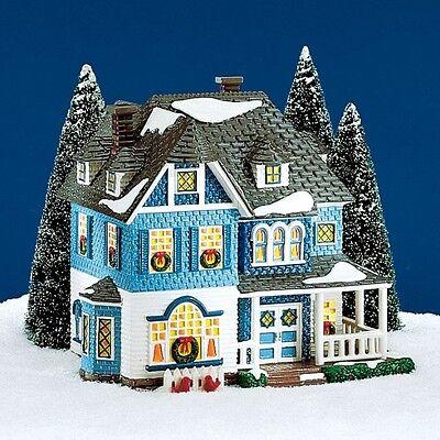 Dept 56 Snow Village ~ Shingle Victorian ~ Mint In Box 54884
