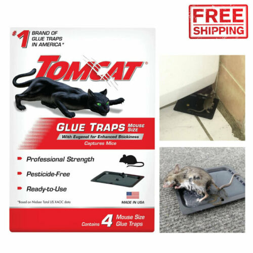 Super Sticky Boards Mice Glue Traps Pest Trap Catch Spiders Insects Rat Mouse