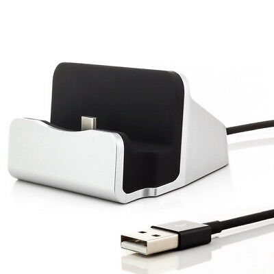 USB-C Typ-C Docking Station Ladegerät Ladestation Ladekabel Type-C 3.1 für Handy