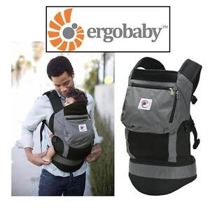 NEW ERGOBABY BABY CARRIER CHARCOAL BLACK 105511984