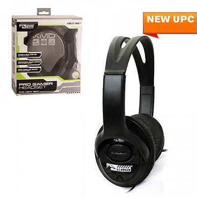 KMD Xbox 360 Pro Gamer Live Chat Headset w/ Microphone Black for Xbox Live Gamer for sale  Shipping to India