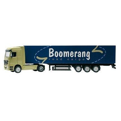 Joal 501 Mercedes Benz Actros with Box Trailer Boomerang Road Cargo H0 1:87
