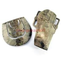 1911 Rh Pistol Paddle & Holster Atacs , Aor1 Or Multicam - airsoft - ebay.co.uk