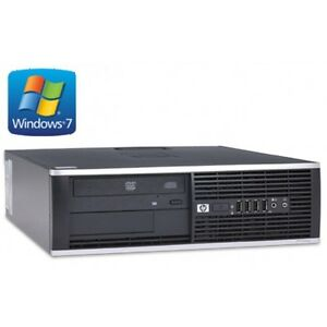 HP-Elite-8000-SFF-Core-2-Duo-E8400-3-GHZ-4GB-250GB-Win-7
