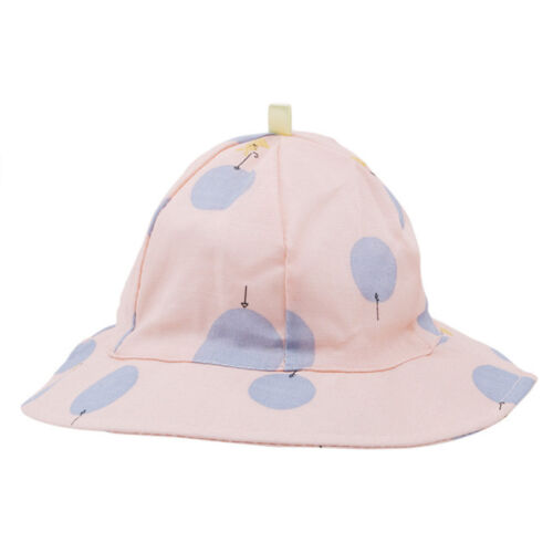 Kids Hat Floppy Bucket Hats Summer Outdoor Toddlers Dot Printing Sun Caps DB