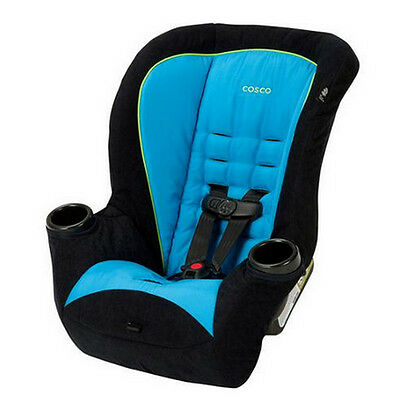 Convertible Car Seat Baby Toddler Boy Girl Malibu Blue Rear & Forward Facing Van