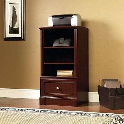 Used, Media Center Tower Audio Video Entertainment Cabinet Storage Bookcase Modern for sale  Wichita