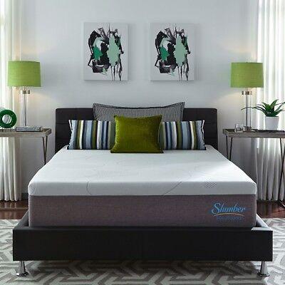 Gel Memory Foam Mattress Queen Size 14 Inch Thick Soft Best Sleep Body