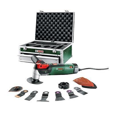 Bosch Multifunktionswerkzeug PMF 250 CES mit 16 tlg. Zubehör 0603100602
