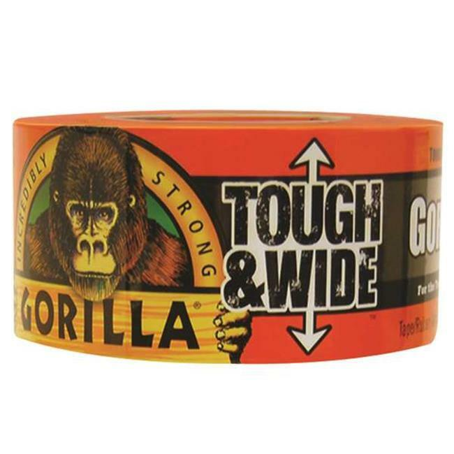 Gorilla ADHGGT330 3 in. x 30 Yard Black Duct Tape