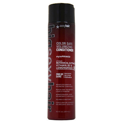 Big Sexy Hair Color Safe Volumizing Conditioner by Sexy Hair for Unisex - 10.1 o