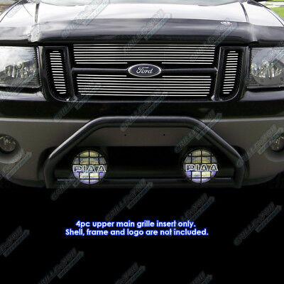 - Fits 01-06 Ford Explorer Sport Trac Main Upper Billet Grille Insert
