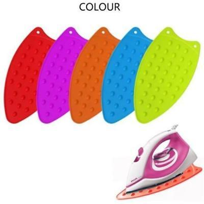 Silicone Iron Rest Pad Heat Resistant Ironing Board Protector Mat Hot Safety LD - Iron Rest Pad