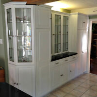 Professionally respray kitchen and bathroom cabinetry 22215