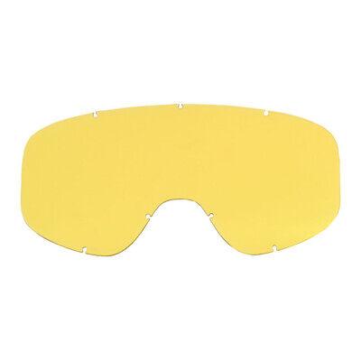 Biltwell Vidrio de Repuesto para Moto Goggle 2.0 , Amarillo