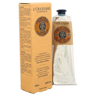L'Occitane Shea Butter Foot Cream 5.2 oz