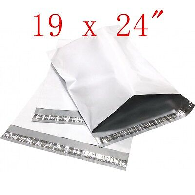 19 X 24 Poly Mailers Shipping Envelope Plastic Bags 2.35 Mil 50 100 250 300