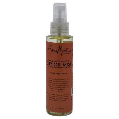 Shea Moisture Coconut & Hibiscus Dry Oil Mist for Unisex, 4