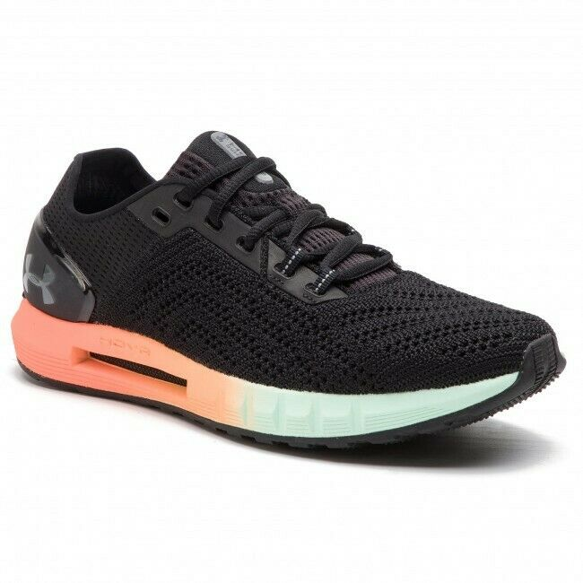 NEW UNDER ARMOUR HOVR SONIC 2 COLOR BLACK GLITCH MEN'S SIZE