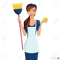 Tomorrow  and  Thursday  Cleaning  Ladies  AVAILABLE