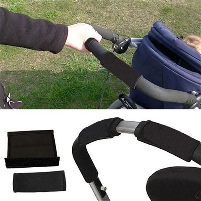 Baby Stroller Armrests Cover Pushchair Carriages Soft Handle Protector Case LI