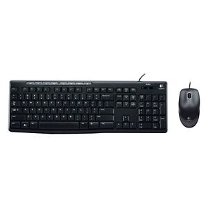New-Logitech-Media-Combo-MK200-Keyboard-and-Mouse-Optical-wired