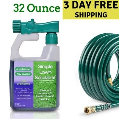 Liquid Lawn Fertilizer Natural Spray For Garden Plant Grass Growth Booster Fluid