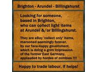 Brighton Driver - Collecting Small Items - Sussex, + M40 J10