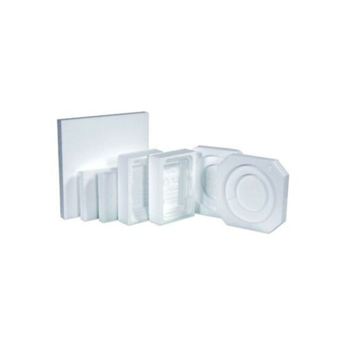 Paint Can Foam Insert, 1 Quart, White, 100/Case