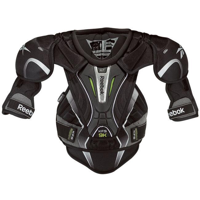 Reebok Kinetic Fit 9K Sr. shoulder Pads XL extra large adult senior chest hockey