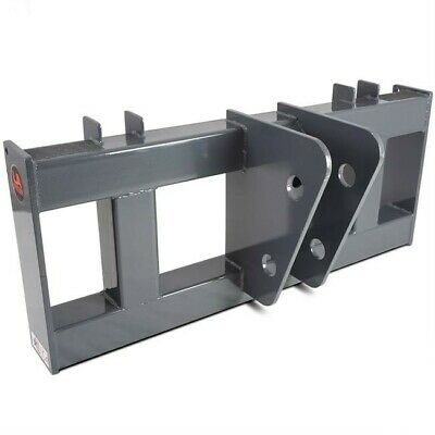 Universal Skid Steer To Backhoe Bucket Breaker Adapter Mount Plate Attachment