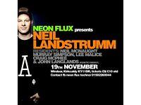 Neon flux presents neil landstrumm