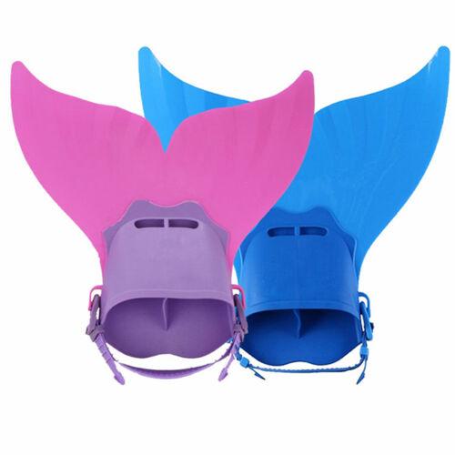 Aletas de natación Juguete Sirena Mermaid para niños Ola Buceo Mermaid Tail