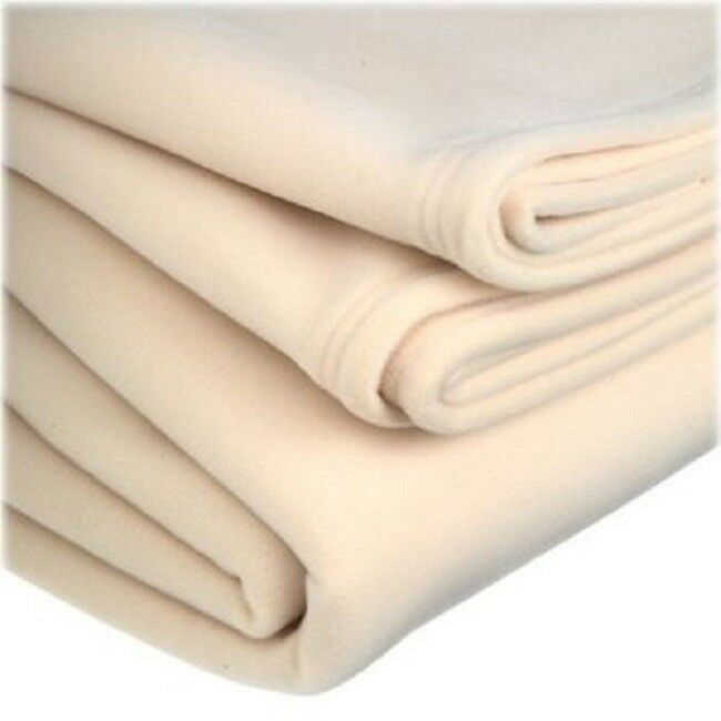 Details About 1 Polar Fleece NEW Vellux Blanket Super Warm And Plush SOFT Ivory KING SIZE
