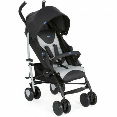 Chicco Echo Stroller with Bumper Bar and Raincover. Birth to 22kg
